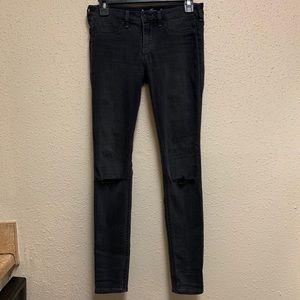 Low-Rise Jean Legging